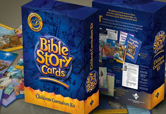 Bible Story Cards packaging