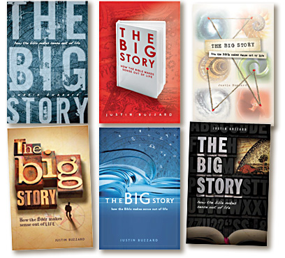cover concepts for The Big Story
