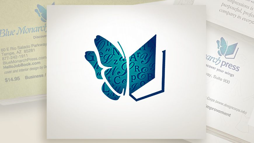 Blue Monarch Press logo