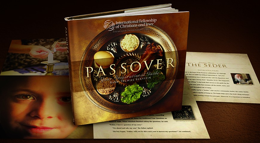 cover and interior designs or Passover - Your Inspirational Guide