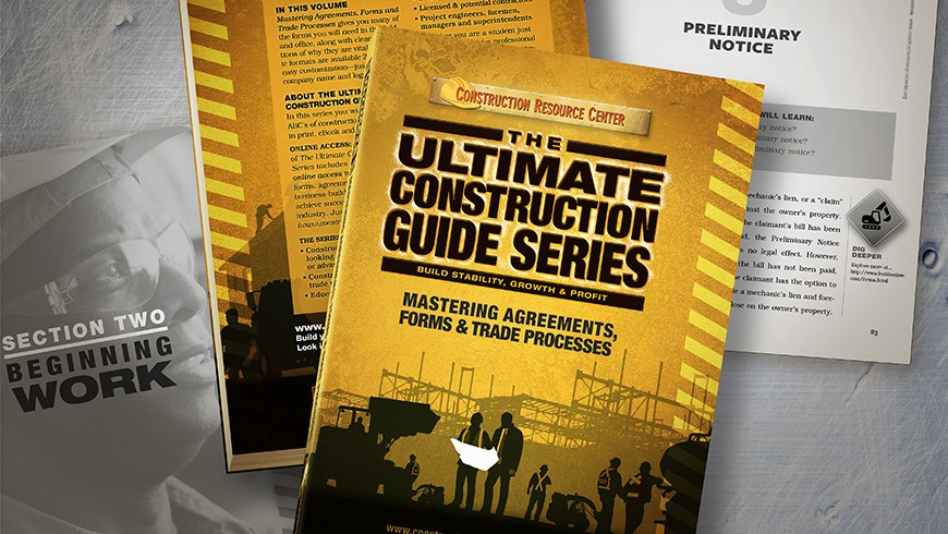 The Ultimate Construction Guide Series