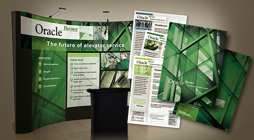 Oracle Elevator marketing materials