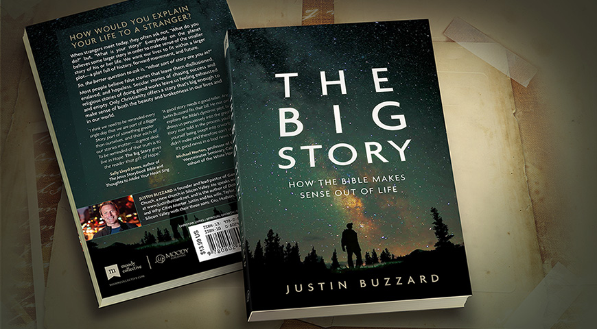 The Big Story cover design for Moody Publishers