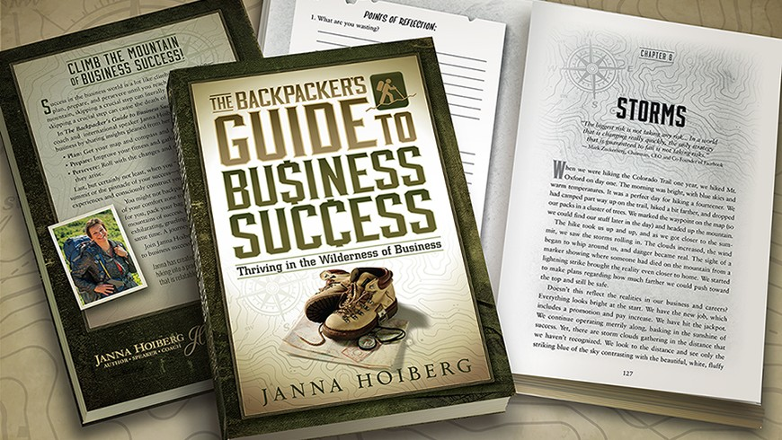 Backpacker's Guide to Business Success cover and interior