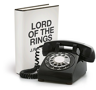 image of Lord of the Rings without design
