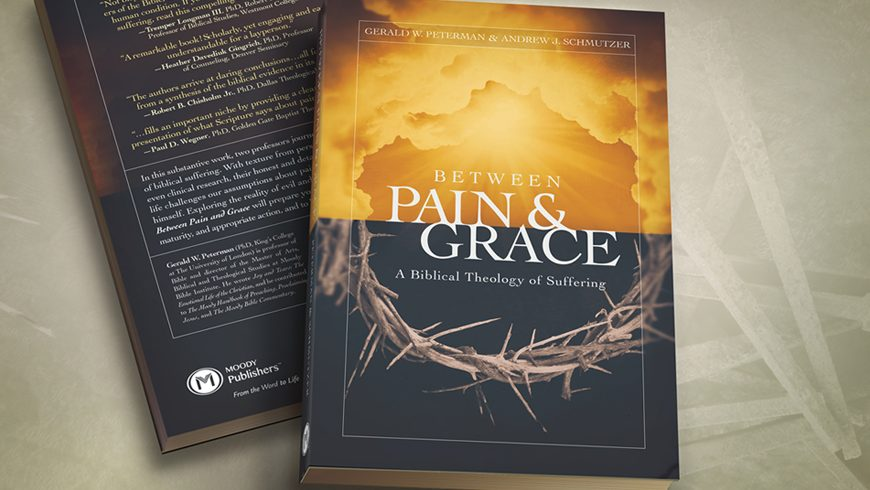 Between Pain & Grace book cover